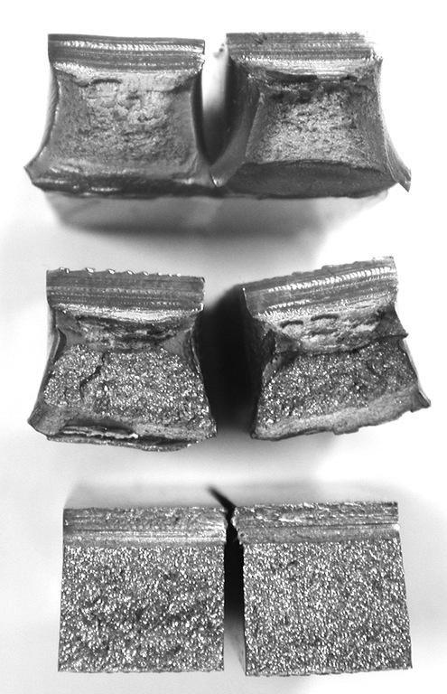 Образцы для испытания на ударную вязкость