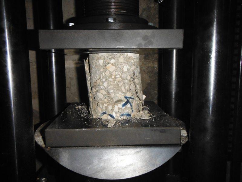 Порядок проведения испытания на сжатие материалов