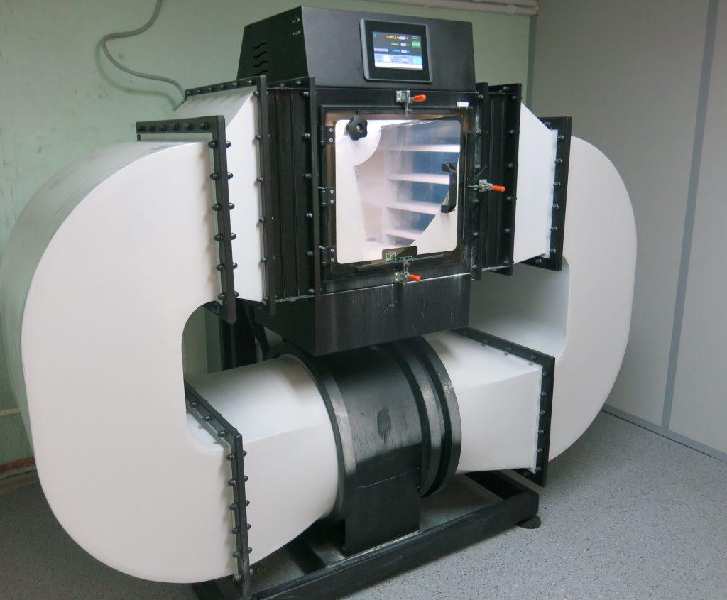 камера для испытаний на воздействие динамической пыли