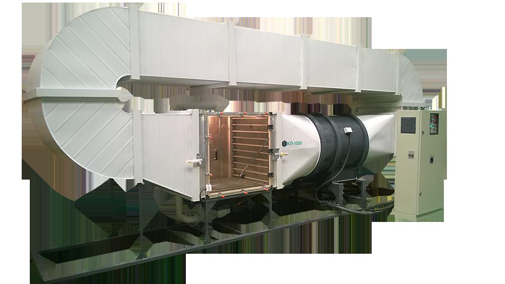 механизм для испытания оборудования на воздействие пыли